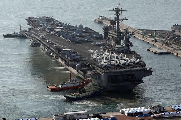 Трамп отправляет еще авианосцы на войну с КНДР