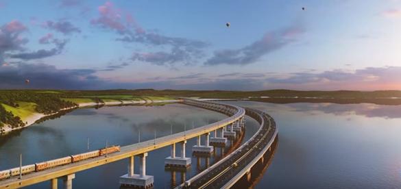 Керченский мост строят при помощи техники с аккумуляторами с завода Порошенко. Керченский мост строят при помощи техники с аккумуляторами с зав