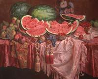 В «Манеже» открывается юбилейная выставка акварели Сергея