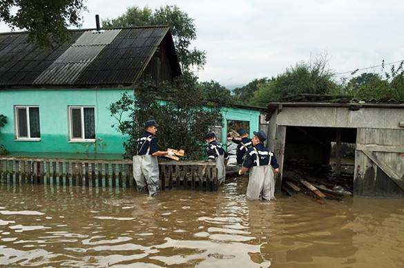 После наводнения пострадавшим жителям Приморья выплатят 555 млн руб.