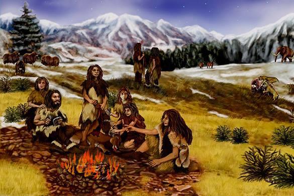 Первых людей ели во время миграции