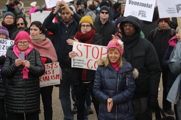В США протестуют против интервенции в Венесуэле. 397887.jpeg