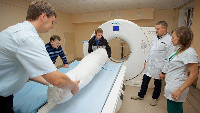 Мумию из Эрмитажа исследовали на томографе. Мумию из Эрмитажа исследовали на томографе