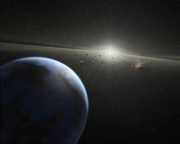 Рекордный радиационный фон излучает Плутон