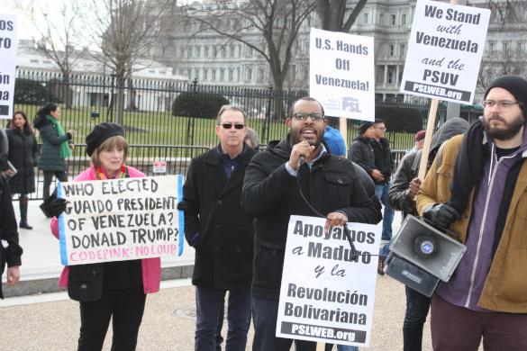 В США протестуют против интервенции в Венесуэле. 397889.jpeg