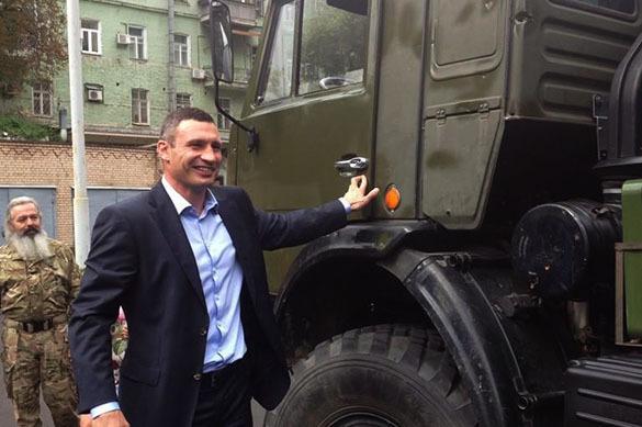 Виталий Кличко издаст сборник своих оговорок для продажи в России. Кличко хочет издать книгу в России