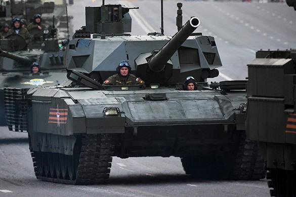 Российская армия примет на вооружение танки Армата в 2019 году