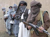 Крупная банда пакистанских талибов прорвалась в Афганистан