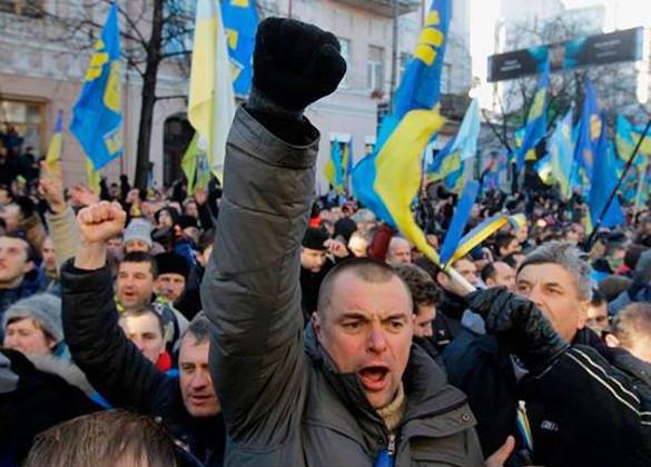 Титушки на Майдане будут работать за идею и еду. Майдан на Украине, митинги на Украине, последние новости Украины