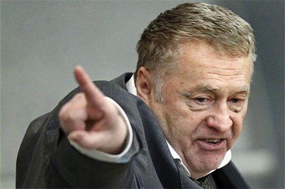 Жириновский отомстил: приказано выслать украинцев и задушить не