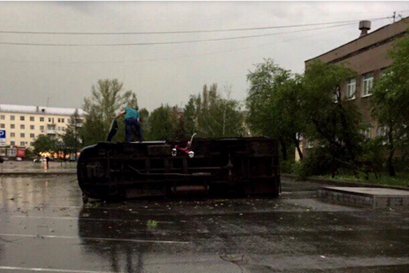 ВСвердловской области предполагается циклон — МЧС