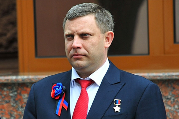 Захарченко снова обещает захватить Киев. Захарченко снова обещает захватить Киев