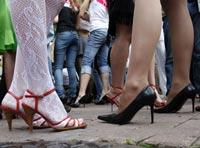 Милиционеры задержали 20 проституток на Ярославском шоссе