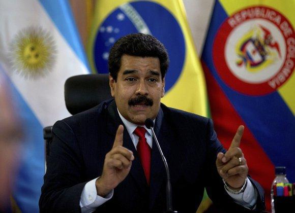 Глава Венесуэлы обвинил США в разрушении планеты. Мадуро обвиняет США в зверских методах работы