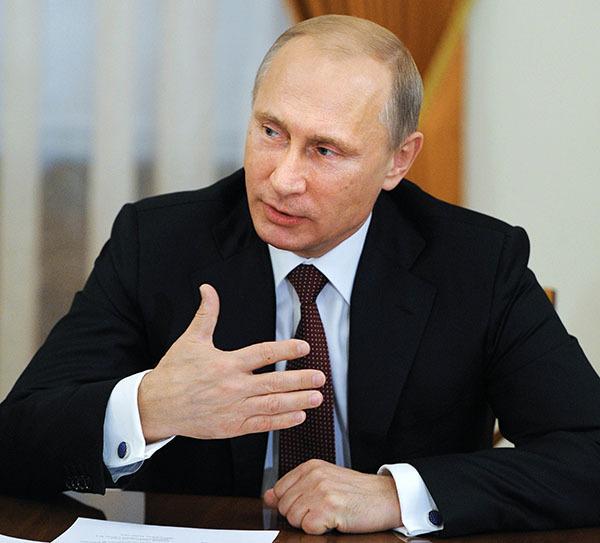 Владимиру Путину понравилась программа развития Рунета. Владимир Путн