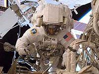 Астронавты завершили вторую космическую
