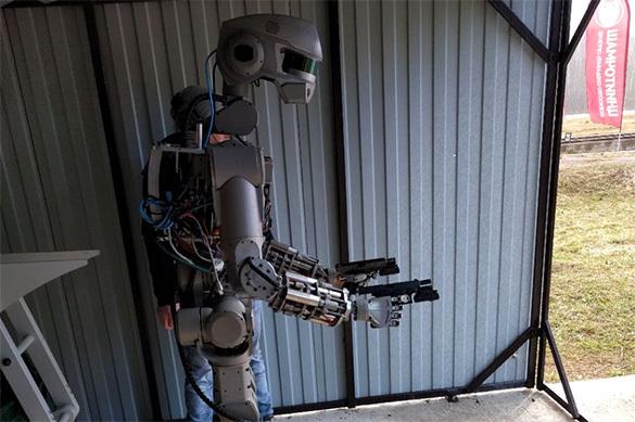 Русский робот Федор стал «страшилкой» для Запада