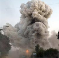 Пакистанский террорист въехал на заминированной машине в