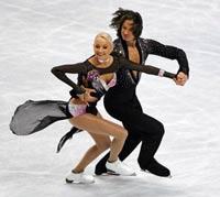 Российская пара завоевала золото ЧМ-2009 в танцах на льду