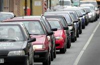 Белорусские водители протестовали на границе с Польшей. cars