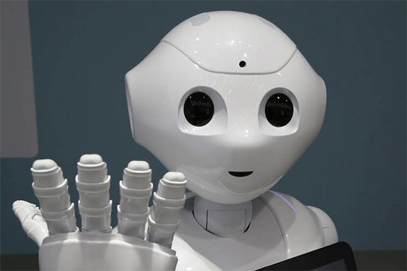 В Гонконге показали общительного робота, способного шутить и сочувствовать. робот
