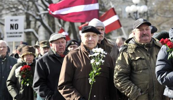 США как инкубатор АнтиРоссии. В Прибалтике проходят марши ветеранов ВОВ со стороны Германии