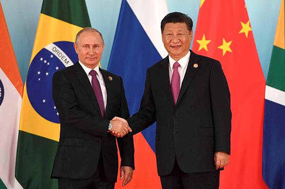 СМИ Гонконга: союз России и Китая не продлится долго. 376900.jpeg