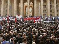 Грузинская оппозиция запаслась клетками для президента