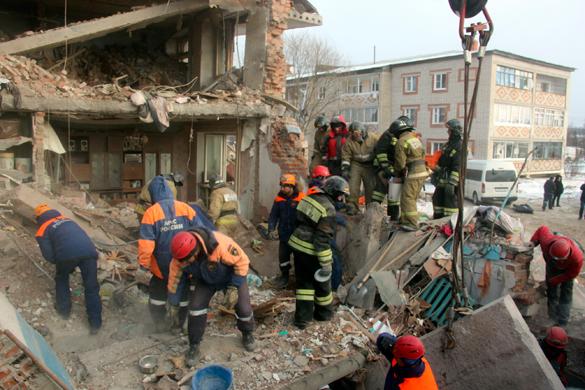 взрыв дома под Хабаровском
