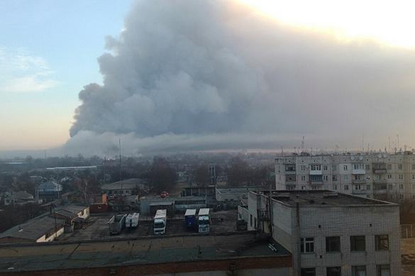 пожар Харьков