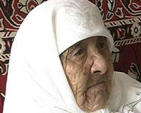 В Казахстане умерла 130-летняя долгожительница