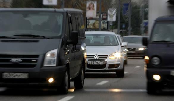 Москва стала слишком шумной. автопоток