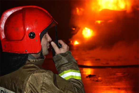 В Бишкеке сгорели сразу семь кафе. В Бишкеке сгорели сразу семь кафе