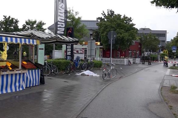 Перестрелка в Мюнхене