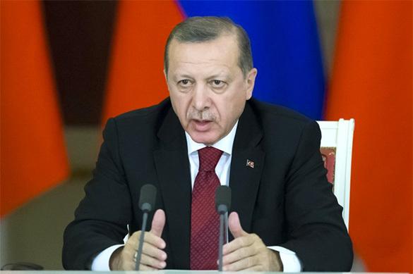 Эрдоган заявил о политическом самоубийстве Германии