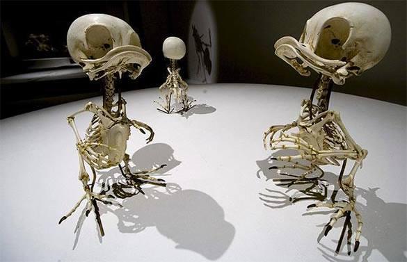 На выставке в Москве покажут скелеты Тома и Джерри, Баггза Банни и других героев мультфильмов. Скелеты=мультики