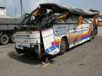 Водитель автобуса, разбившегося под Новосибирском, задержан