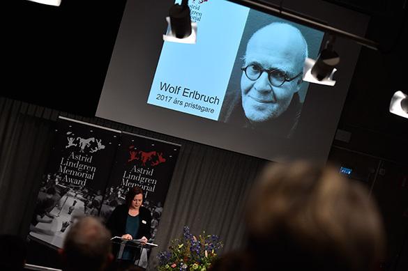 В Стокгольме назвали лауреата премии памяти Астрид Линдгрен за 2