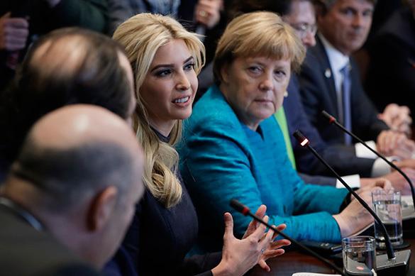 Меркель рассказала, что думает о замене Трампа на его дочь на са