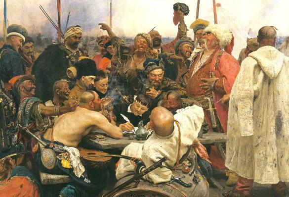 Писали ли запорожцы письмо турецкому султану. Дипломатическая переписка казаков с турецким султаном