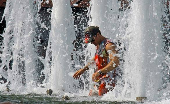 В Калининграде в День ВДВ все фонтаны отключены на профилактику
