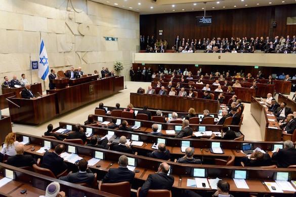 Израильский министр: Кнессет не признает