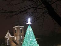 В Литве испекли трехметровую рождественскую елку. tree