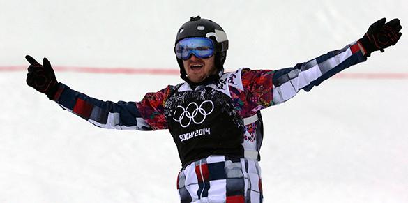 Николай Олюнин принес России серебро в соревнованиях по сноуборд-кроссу. Николай Олюнин принес России серебро в соревнованиях по сноуборд