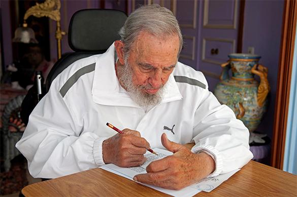 МИД РФ: Высказывания Трампа по поводу Фиделя Кастро останутся н