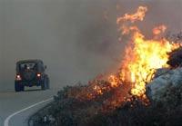 Ростовские пожарные справились с огнем на нефтепроводе