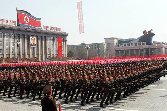 Северная Корея запрещает США проводить конференцию по правам человека. Парад в Северной Корее