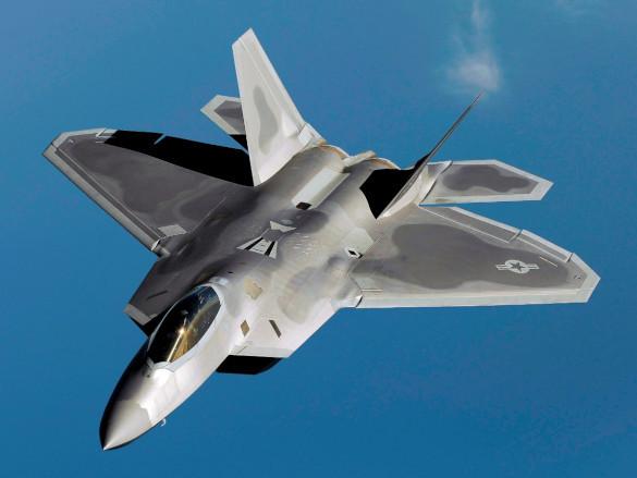 Перед российским воздушным хищником американец оказался олененком. F-22 Raptor