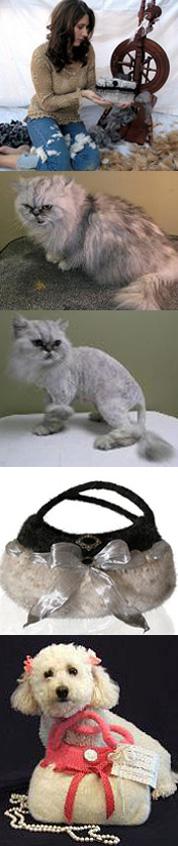 Модные сумки …из кошачьей шерсти