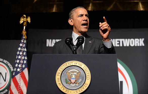 """Американцы """"салютуют"""" Обаме нацистскими флагами. 304918.jpeg"""
